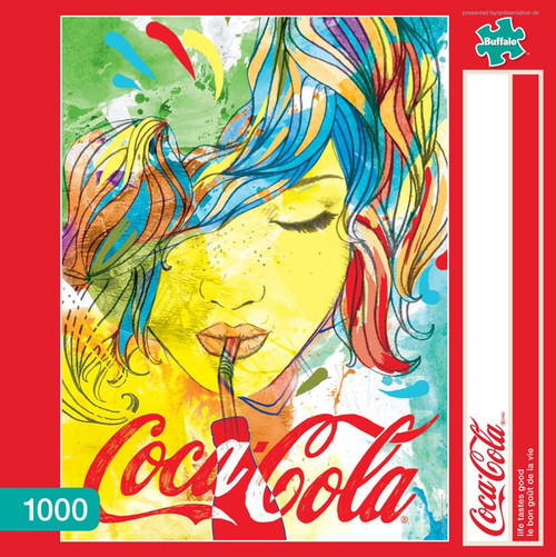 Coca-Cola Life Tastes Good 1000 Piece Jigsaw Puzzle Box