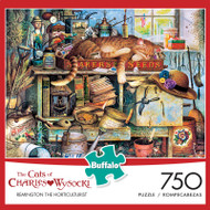 The Cats of Charles Wysocki: Remington the Horticulturist 750 Piece Jigsaw Puzzle