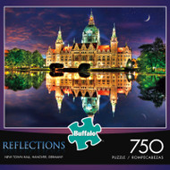 Reflections New Town Hall, Hanover, Germany 750 Piece Jigsaw Puzzle