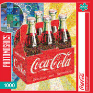 Coca-Cola, of course! 1000 Piece Photomosaic Jigsaw Puzzle Box