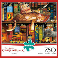 The Cats of Charles Wysocki: Cat Tales 750 Piece Jigsaw Puzzle Box