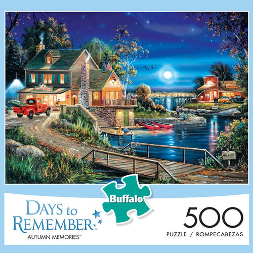 Days to Remember Autumn Memories 500 Piece Jigsaw Puzzle Box