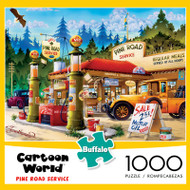 Cartoon World Pine Road Service 1000 Piece Jigsaw Puzzle
