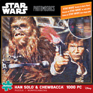 Star Wars: Han Solo and Chewbacca 1000 Piece Photomosaic Jigsaw Puzzle