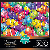 Vivid Clown School 300 Large Piece Puzzle Box