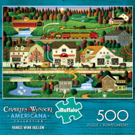 Charles Wysocki Americana Collection Yankee Wink Hollow 500 Piece Jigsaw Puzzle