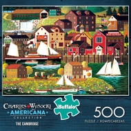 Charles Wysocki Americana Collection The Cambridge 500 Piece Jigsaw Puzzle