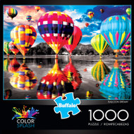 Color Splash Balloon Dream 1000 Piece Jigsaw Puzzle Box