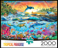 Tropical Paradise 2000 Piece Jigsaw Puzzle