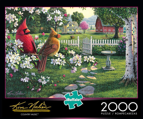 Kim Norlien Country Music 2000 Piece Jigsaw Puzzle Box