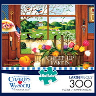 Charles Wysocki A Peach of a Day 300 Large Piece Jigsaw Puzzle