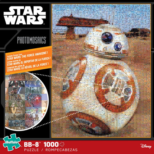 Star Wars™: BB-8 1000 Piece Photomosaic Jigsaw Puzzle Box