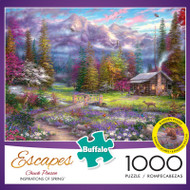 Chuck Pinson Escapes Inspirations of Spring 1000 Piece Jigsaw Puzzle