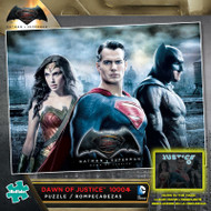 Batman v Superman Dawn of Justice Glow-in-the-Dark 1000 Piece Jigsaw Puzzle