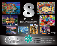 Collector's Edition 8-in-1 Puzzle Multi-pack