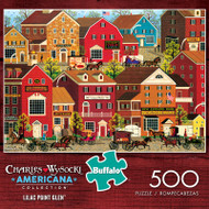 Charles Wysocki Americana Collection Lilac Point Glen 500 Piece Jigsaw Puzzle