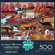 Charles Wysocki Americana Collection Waterfall Valley 500 Piece Jigsaw Puzzle