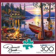 Darrell Bush Canoe Lake 300 Large Piece Jigsaw Puzzle
