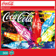 Splash of Coca-Cola 300 Large Piece Jigsaw Puzzle Box