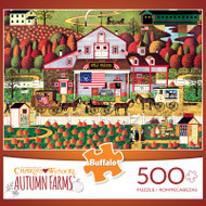 Charles Wysocki Autumn Farms 500 Piece Jigsaw Puzzle
