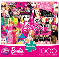 Mattel Fashion Fabulous Barbie 1000 Piece Jigsaw Puzzle Box