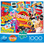 Mattel Toy Box Treasures 1000 Piece Jigsaw Puzzle Box