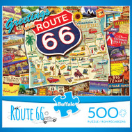Route 66 500 Piece Jigsaw Puzzle Box