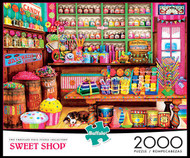 Sweet Shop 2000 Piece Jigsaw Puzzle