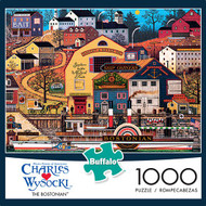 Charles Wysocki The Bostonian 1000 Piece Jigsaw Puzzle