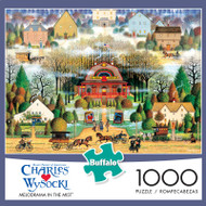 Charles Wysocki Melodrama In the Mist 1000 Piece Jigsaw Puzzle