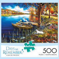 Days to Remember A Day on the Dock 500 Piece Jigsaw Puzzle