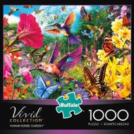 Vivid Hummingbird Garden 1000 Piece Jigsaw Puzzle