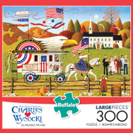 Charles Wysocki So Proudly We Hail 300 Large Piece Jigsaw Puzzle