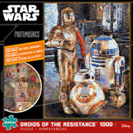 Star Wars: Droids of the Resistance 1000 Piece Photomosaic Jigsaw Puzzle