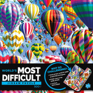 World's Most Difficult Jigsaw Puzzle - Balloons 500 Pieces