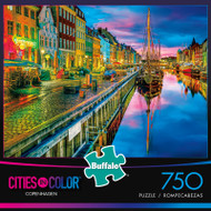 Cities in Color: Copenhagen - 750 Piece Jigsaw Puzzle