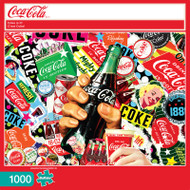Coca-Cola Coke Is It! 1000 Piece Jigsaw Puzzle Box