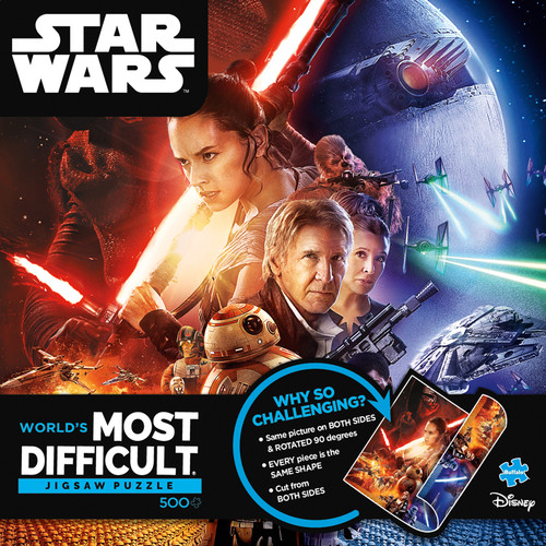 World's Most Difficult Jigsaw Puzzle - Star Wars™ 500 Piece Jigsaw Puzzle Box