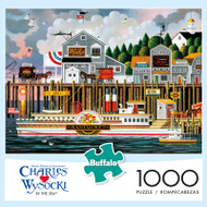 Charles Wysocki By the Sea 1000 Piece Jigsaw Puzzle Box