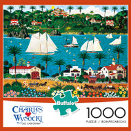 Charles Wysocki Old California 1000 Piece Jigsaw Puzzle Box