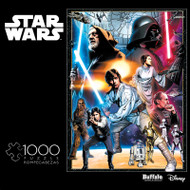 Star Wars: The Circle is Now Complete - 1000 Piece Jigsaw Puzzle