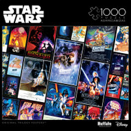 Star Wars: Original Trilogy Posters 1000 Piece Jigsaw Puzzle Box