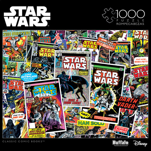 Star Wars: Classic Comic Books 1000 Piece Jigsaw Puzzle Box