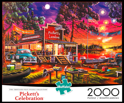 Pickett's Celebration 2000 Piece Jigsaw Puzzle