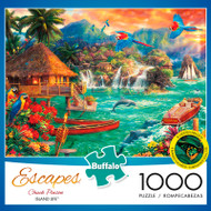 Chuck Pinson Escapes Island Life 1000 Piece Jigsaw Puzzle