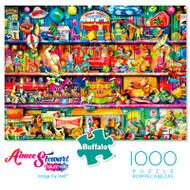 Aimee Stewart Collection:  Vintage Toy Shelf 1000 Piece Jigsaw Puzzle