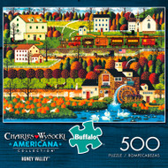 Charles Wysocki Americana Collection Honey Valley 500 Piece Jigsaw Puzzle Box