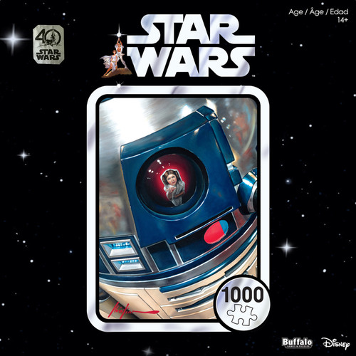 "Star Wars 40th Anniversary ""You're My Only Hope"" 1000 Piece Jigsaw Puzzle Box"