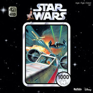 "Star Wars 40th Anniversary ""Use The Force Luke"" 1000 Piece Jigsaw Puzzle Box"