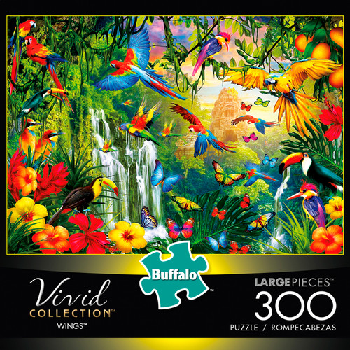 Vivid Wings 300 Large Piece Jigsaw Puzzle Box